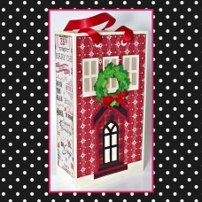 Holiday Row House Gift Bag