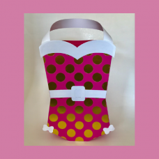 Vintage Swimsuit Gift Bag