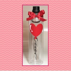 Heart Balloon Double Wall Sport/Water Bottle