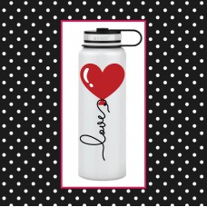 Heart Balloon Large Thermal Bottle
