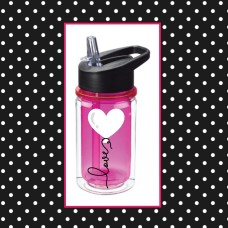 Heart Balloon Small Water Bottle
