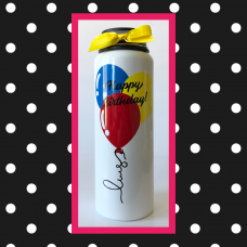 Birthday Balloons Large Thermal Bottle