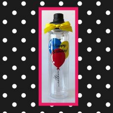 Birthday Balloons Double Wall Sport Bottle