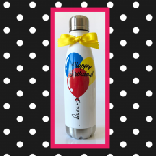 Birthday Balloons Thermal Water Bottler