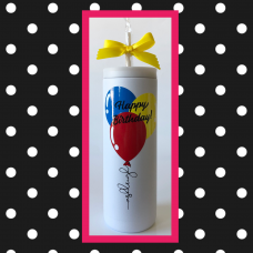 Birthday Balloons Thermal Travel Tumbler