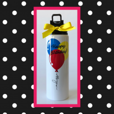 Birthday Balloons Sport Bottle