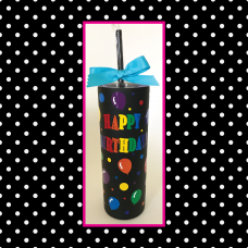 Birthday Skinny Stainless Steel Tumbler