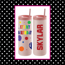 Birthday Thermal Travel Tumbler