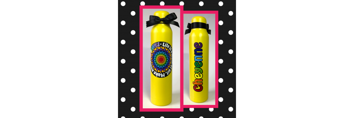 Colorful Skinny Thermal Bottle