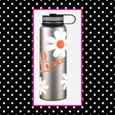 Daisies 40 oz. Thermal Bottle