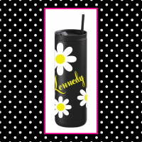 Daisies Thermal Travel Tumbler