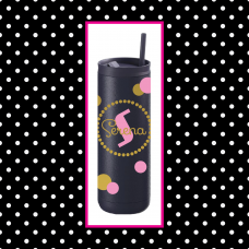 Dots Thermal Travel Tumbler