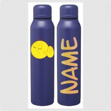 Emoji - Talk to the Hand Skinny Thermal Water Bottle