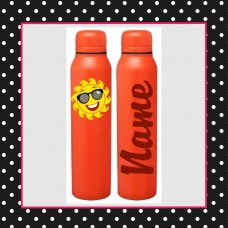 Emoji - Sunshine Skinny Thermal Bottle
