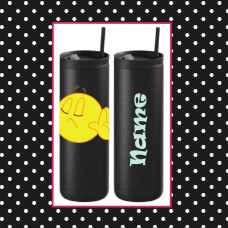 Emoji - TALK TO THE HAND Thermal Travel Tumbler