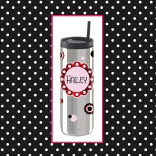 Flower Medallion Thermal Travel Tumbler