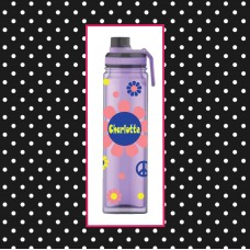 Flower Power Double Wall Sport/Water Bottle