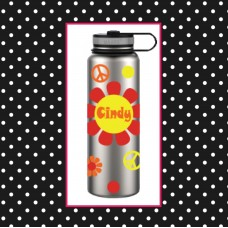 Flower Power 40 oz. Thermal Bottle