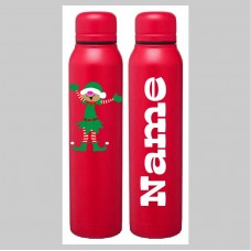 Holiday Elf Skinny Thermal Bottle
