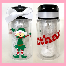 Holiday Elf Small Double Wall Water Bottle