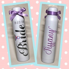 """I Do"" Skinny Thermal Water Bottle"