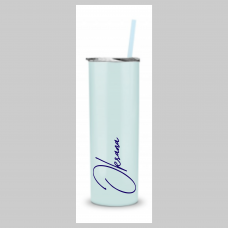 Just My Name Skinny Stainless Steel Tumbler