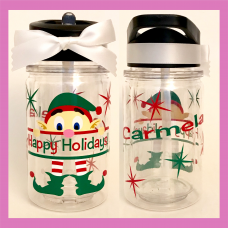 Kilroy the Elf Small  Double Wall Water Bottle