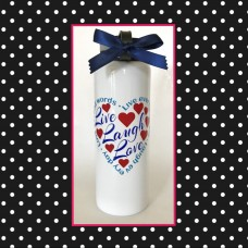 """Live Laugh Love"" Large Thermal Bottle"