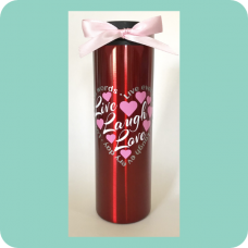 """Live Laugh Love"" Travel Mug"