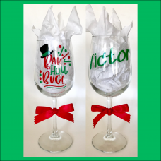 Scrooge Wine Glass