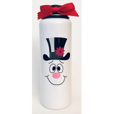 Jolly Snowman Large Thermal Bottle