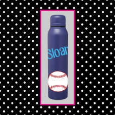Sports Skinny Thermal Water Bottle