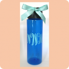 Vine Monogram Tritan™ Water Bottle