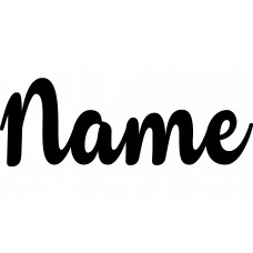 Name Decal