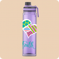 Bold Heart Double Wall Sport/Water Bottle