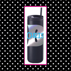 Fun Initial Thermal Travel Tumbler