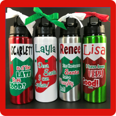 Christmas Stocking Sport Bottle