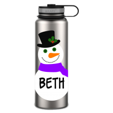 Let It Snow! Large Thermal Bottle
